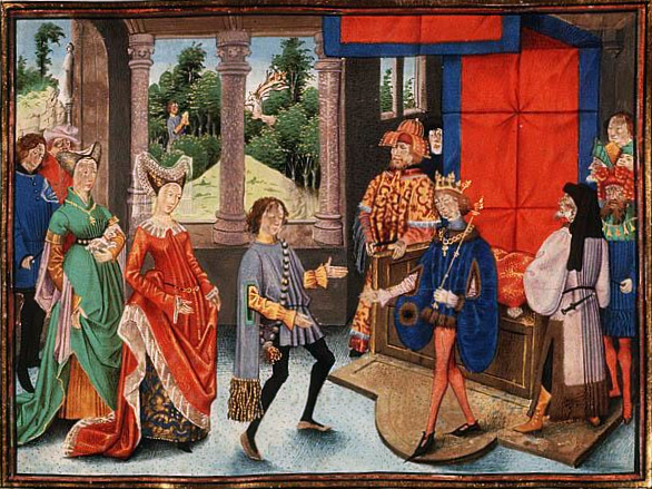 File:St Hubert of Liège offers his services to Pepin of Heristal.jpg