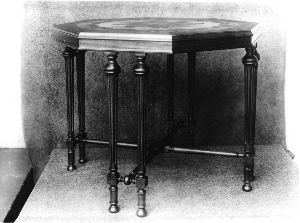 File Statelibqld 2 136982 Octagonal Table Built By Ed