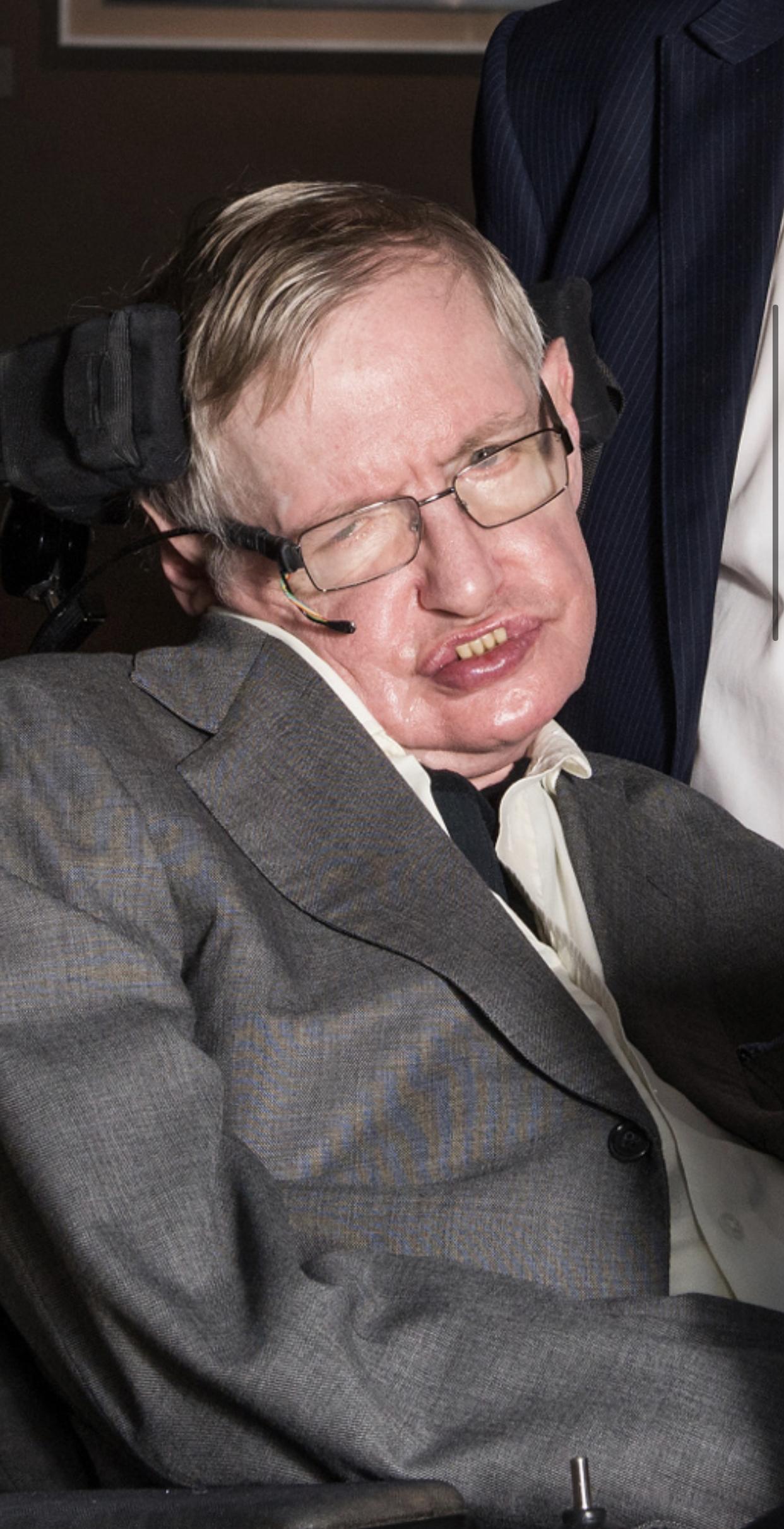 Poet Stephen Hawking