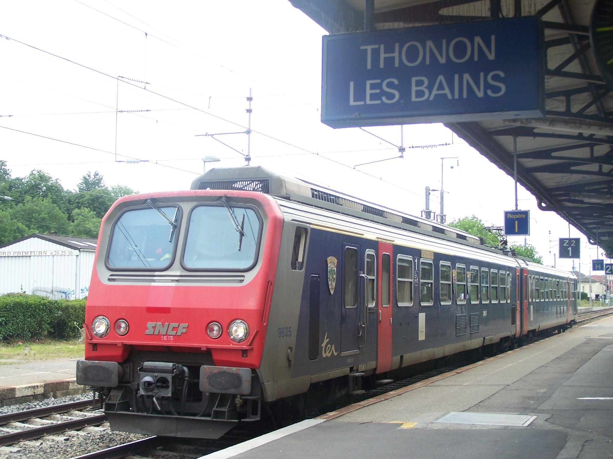 Gare de thonon les bains for Garage thonon les bains