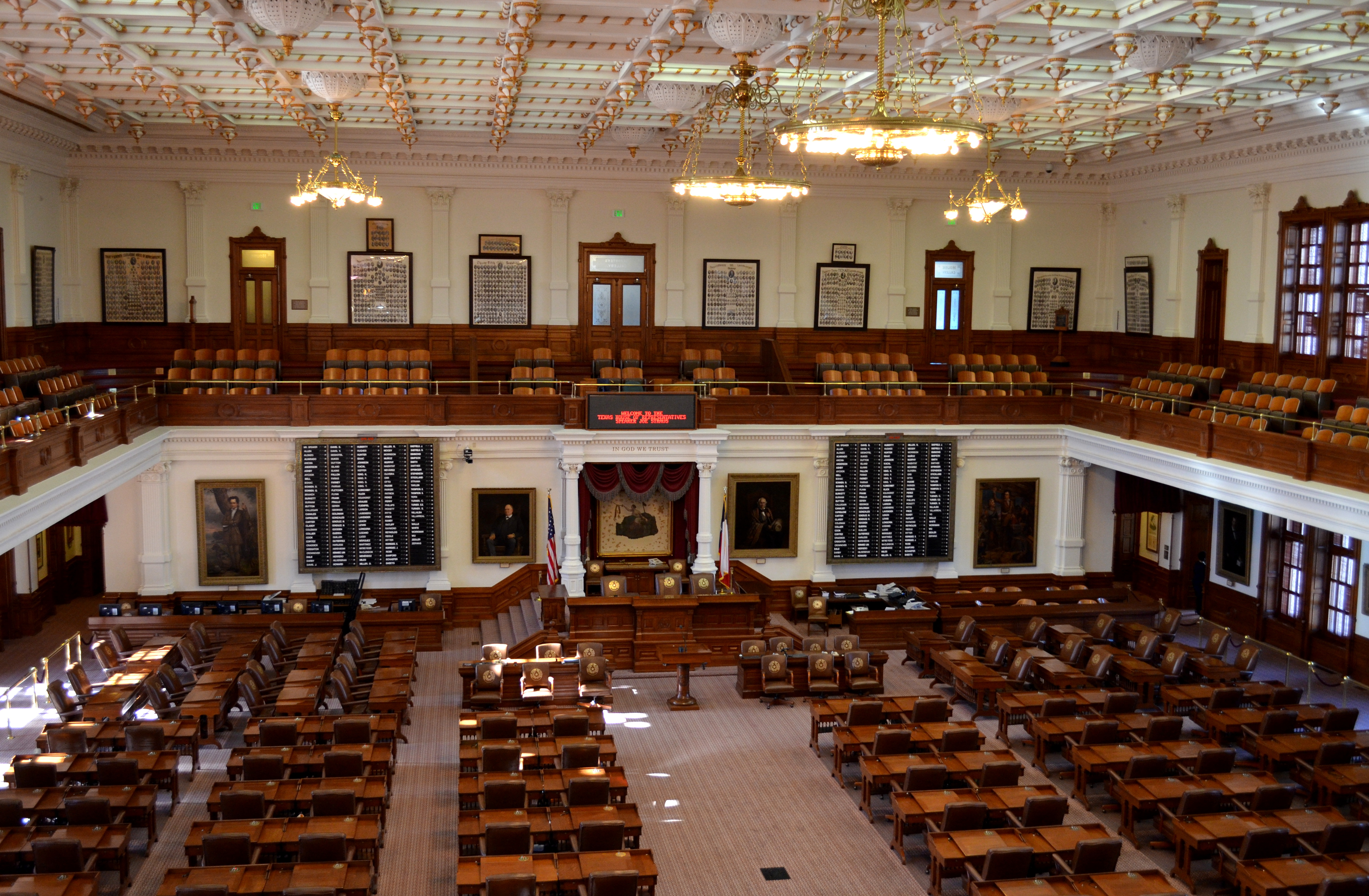 File texas state capitol house wikimedia for The texas house
