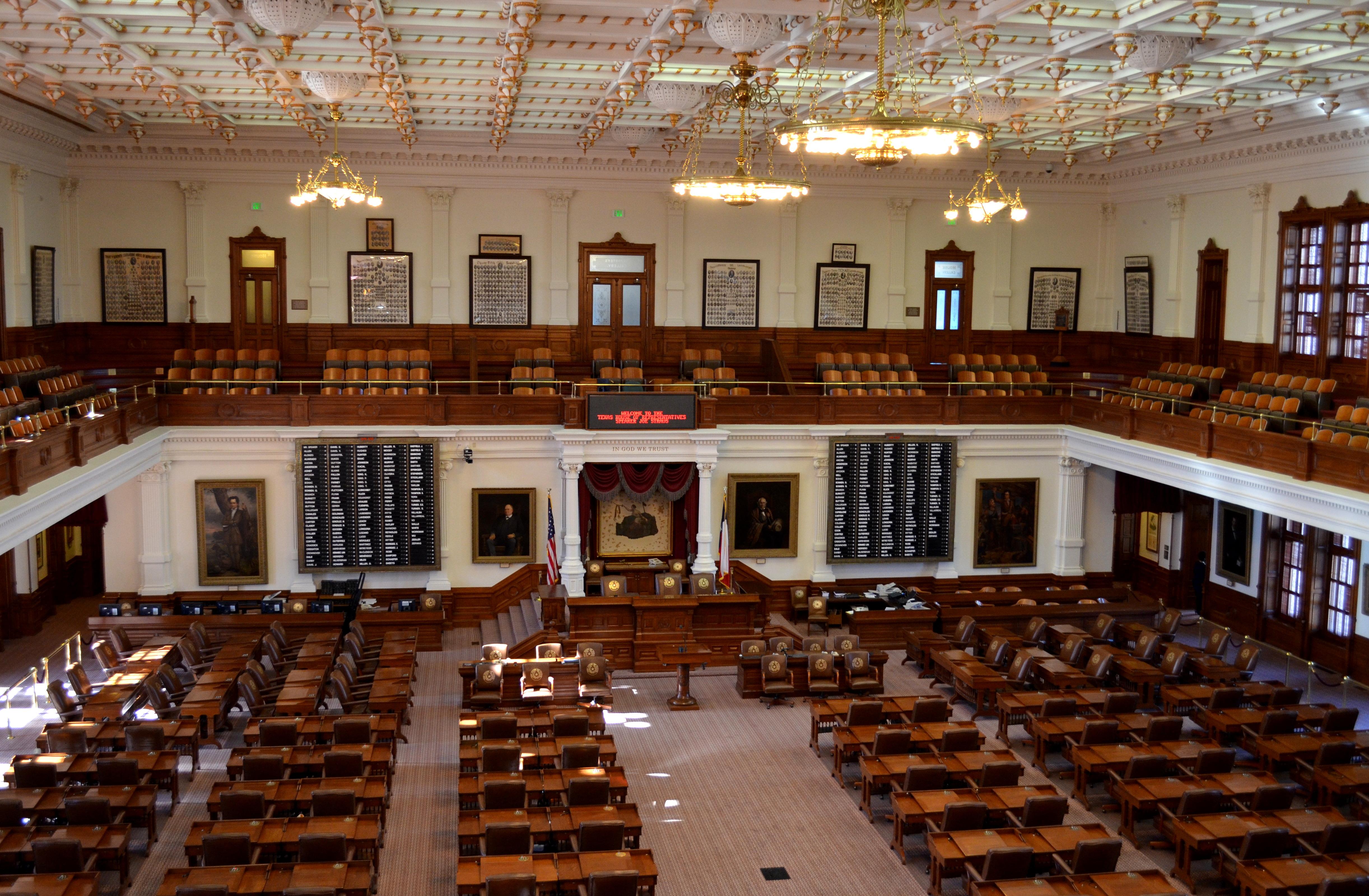 File Texas State Capitol House Chamber Jpg Wikimedia