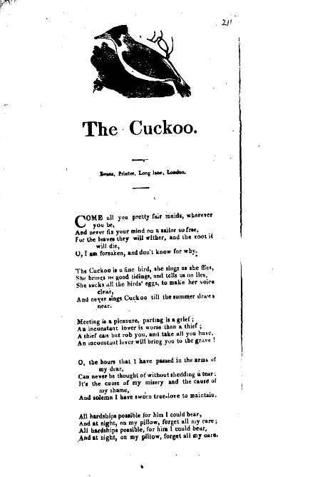 The Cuckoo (song) - Wikipedia