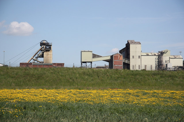 Thoresby Colliery - geograph.org.uk - 1926927