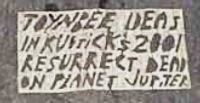 Toynbee tile photographed a block or so from t...