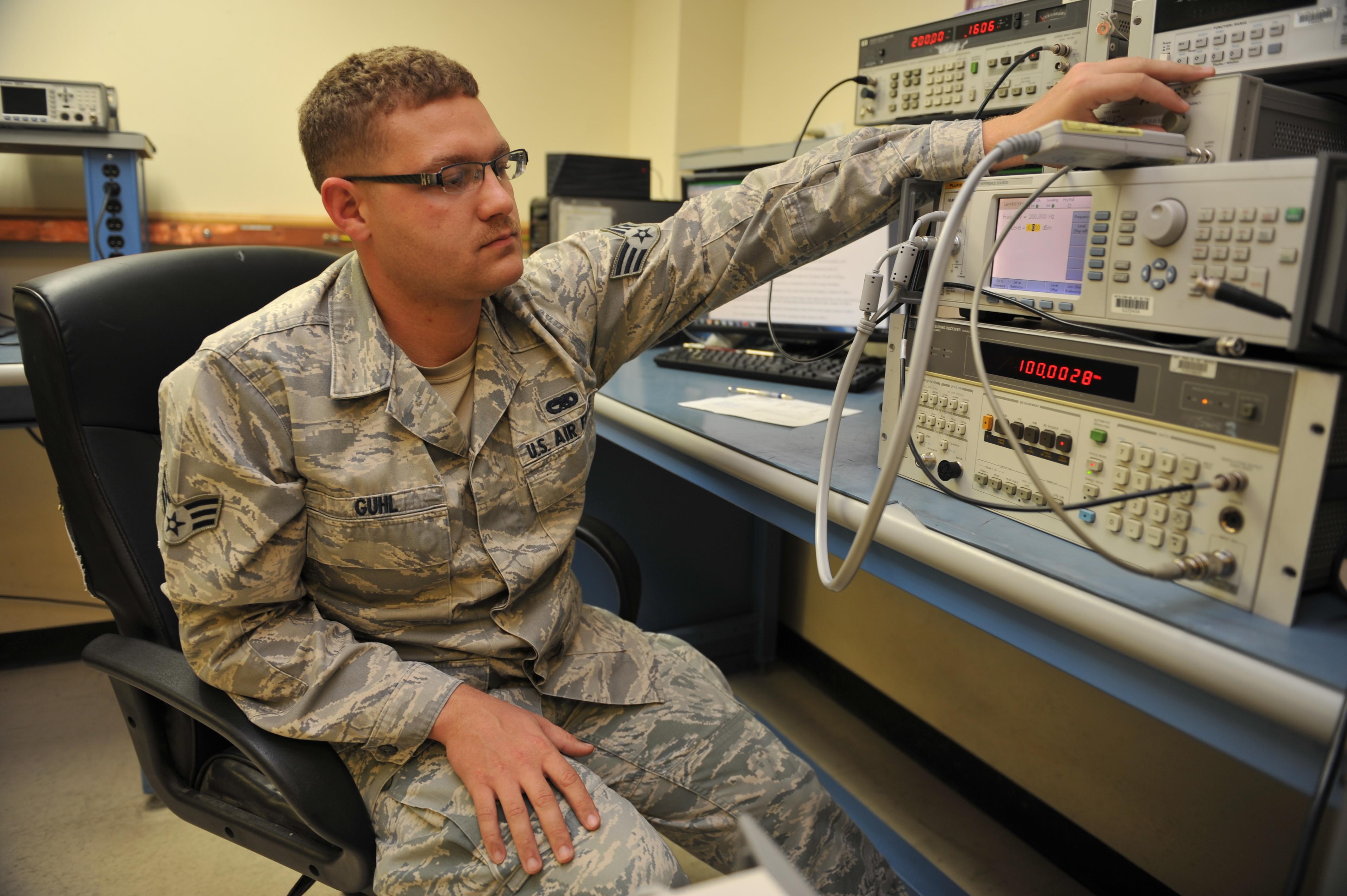 File:U.S. Air Force Senior Airman Christopher Guhl, a precision ...