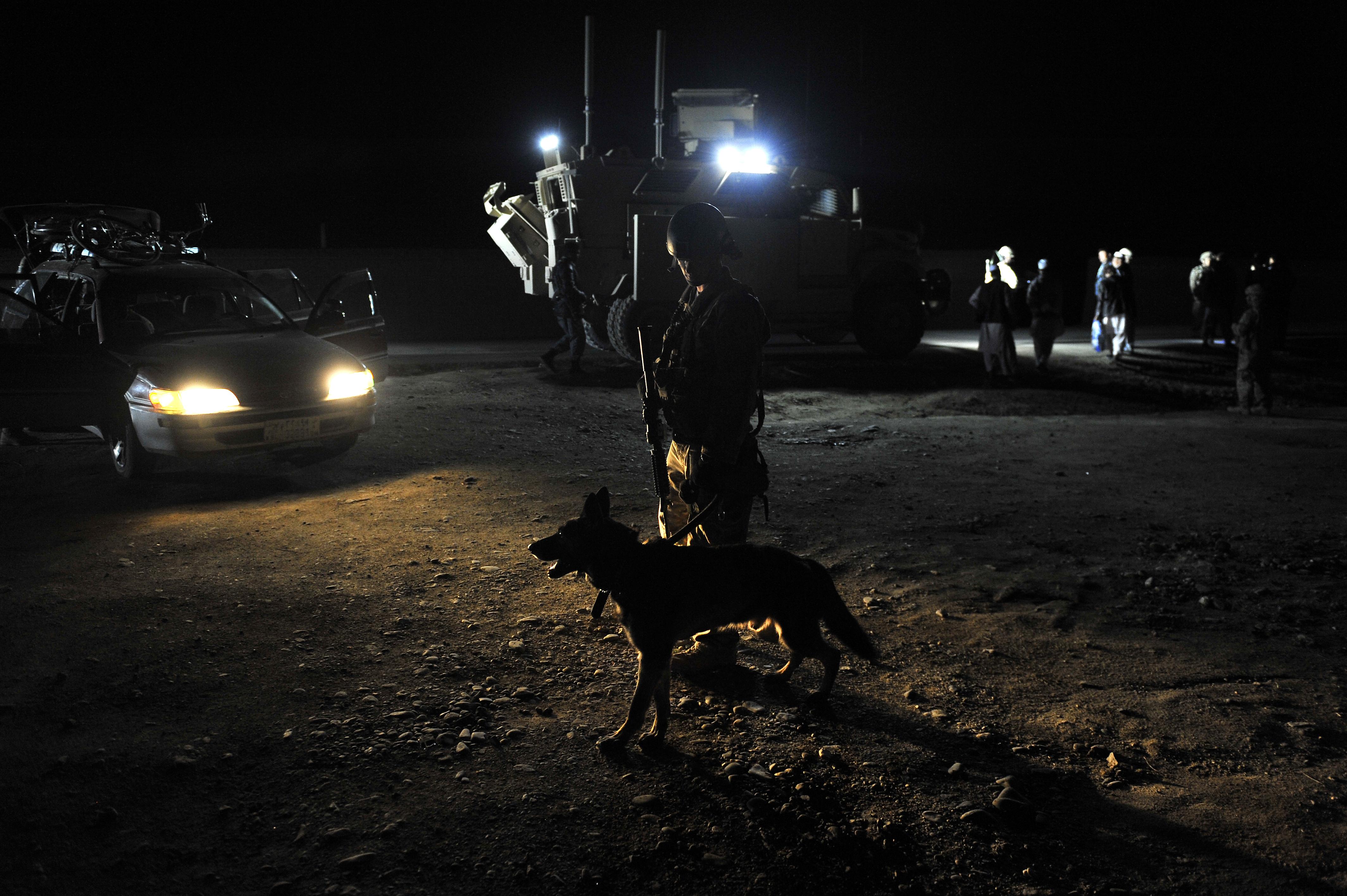 File U S Air Force Staff Sgt Steven Owen A Dog Handler