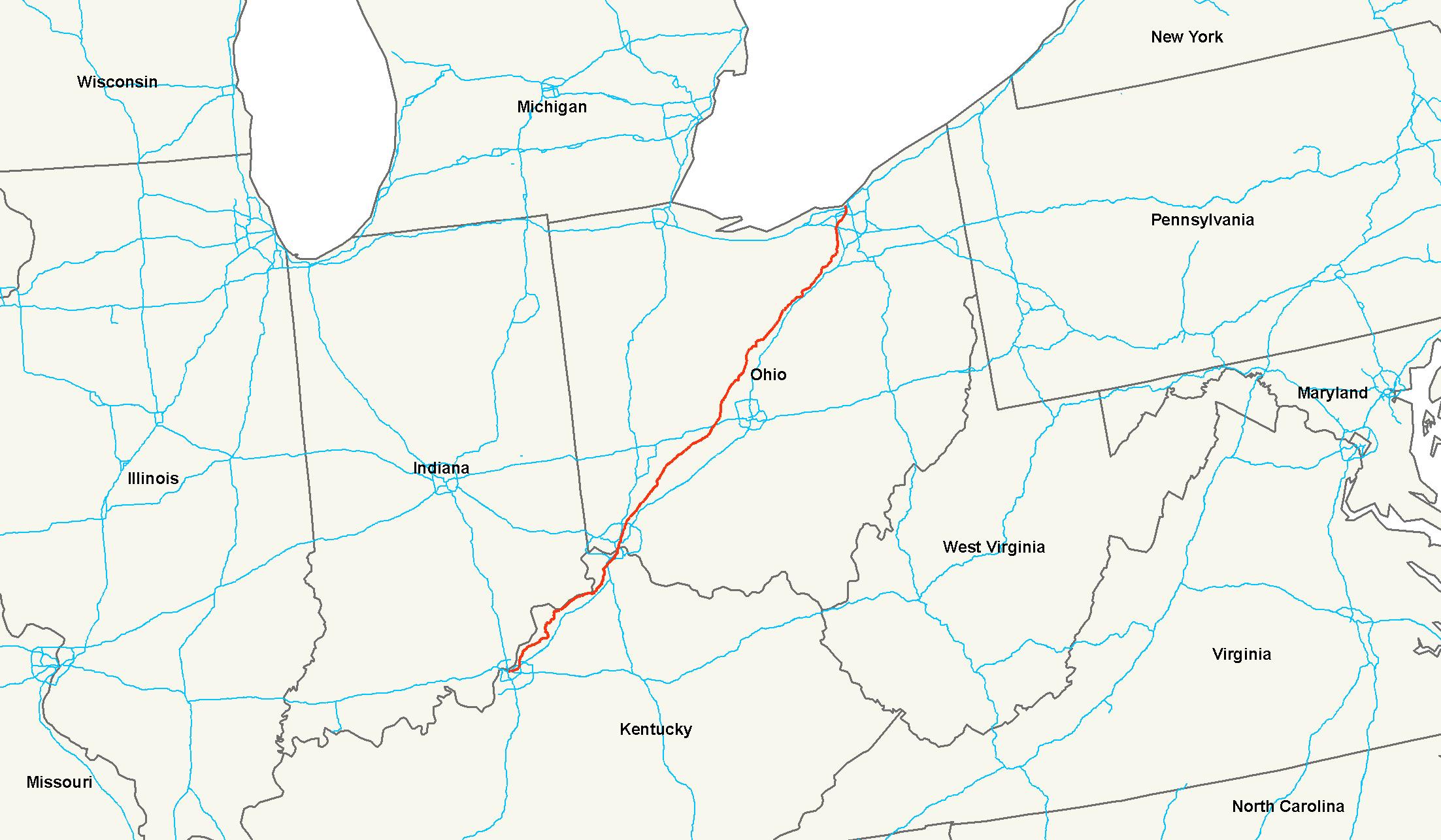 U S  Route 42 - Wikipedia