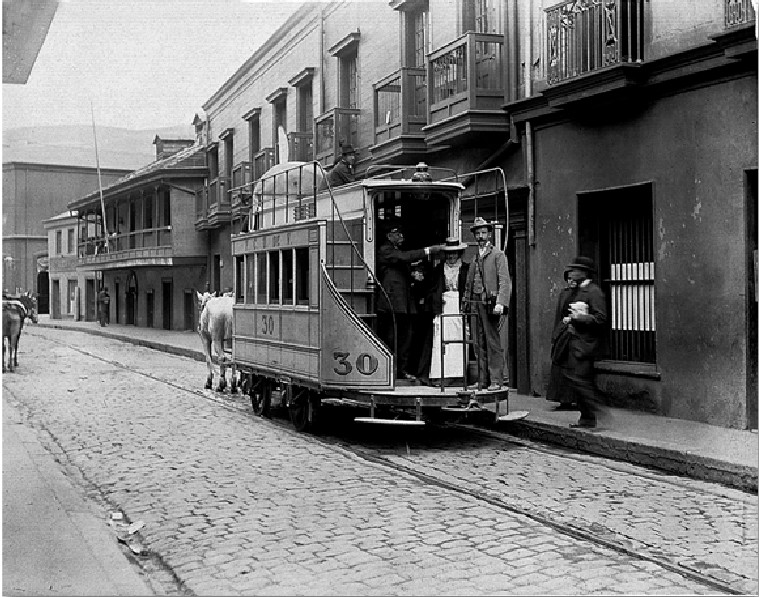 Valparaiso 1899, Olds en pescante de un tranvia n30.jpg