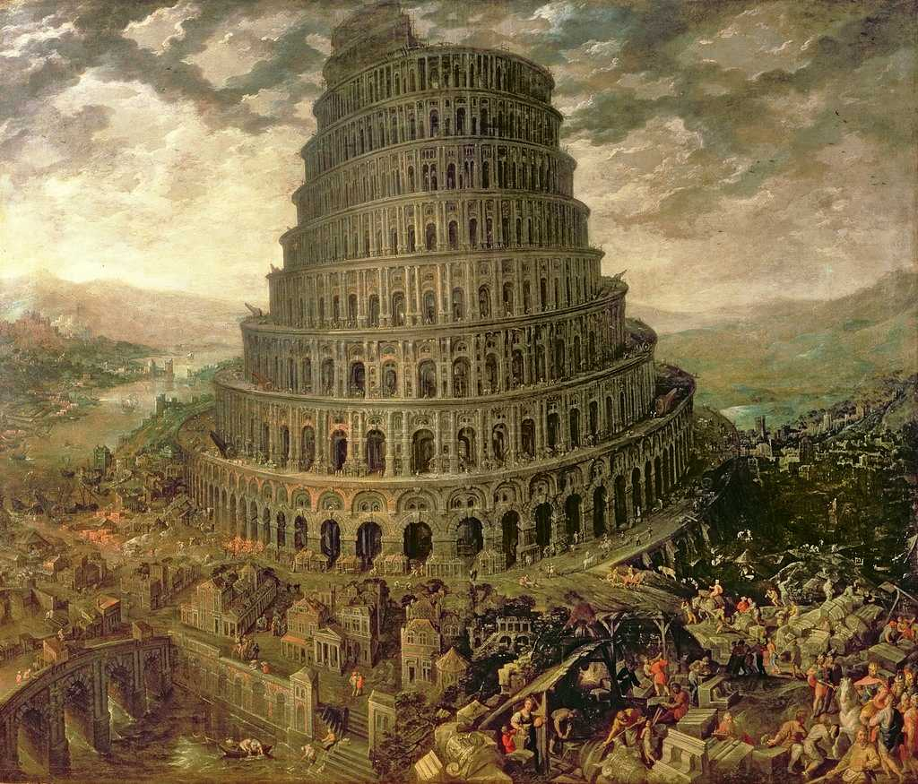 an interpretation of genesis 111 9 story about the tower of babel