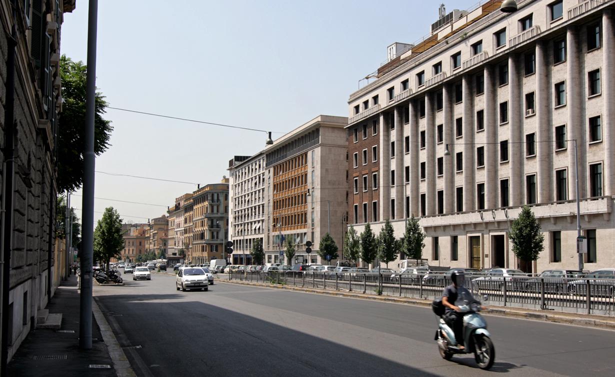 File viale castro wikimedia commons for Affitto appartamento castro pretorio roma