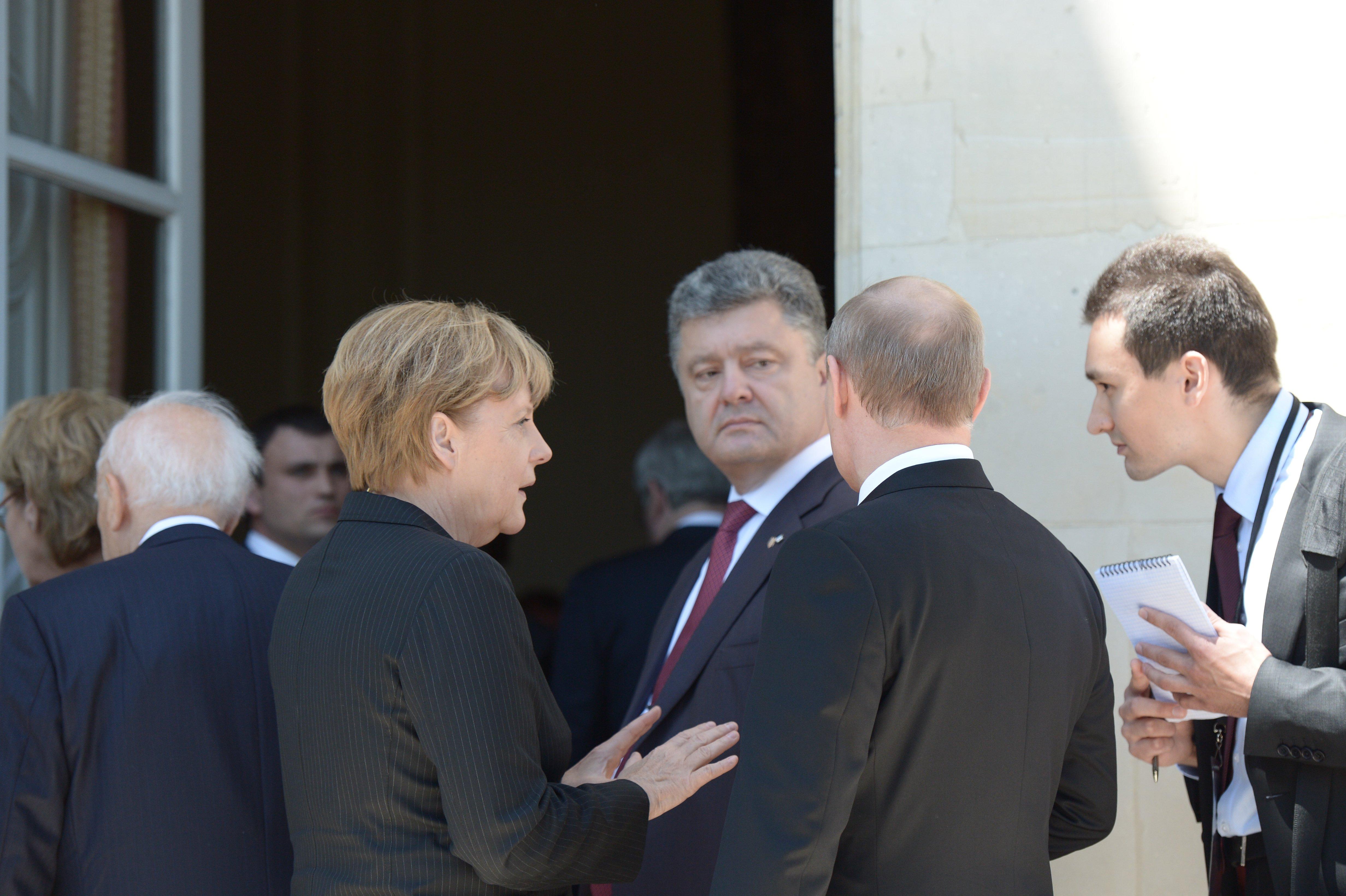 Image result for poroshenko putin