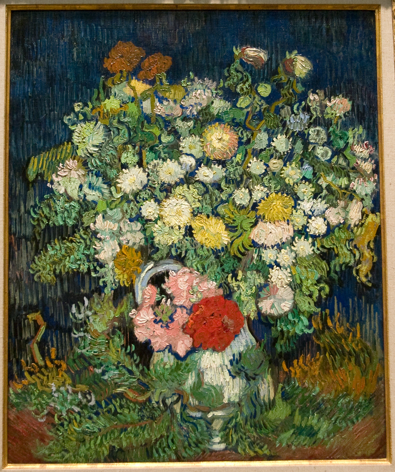 Bouquet of Flowers in a Vase, Van Gogh