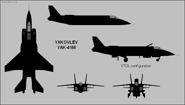 Проекции Як-141