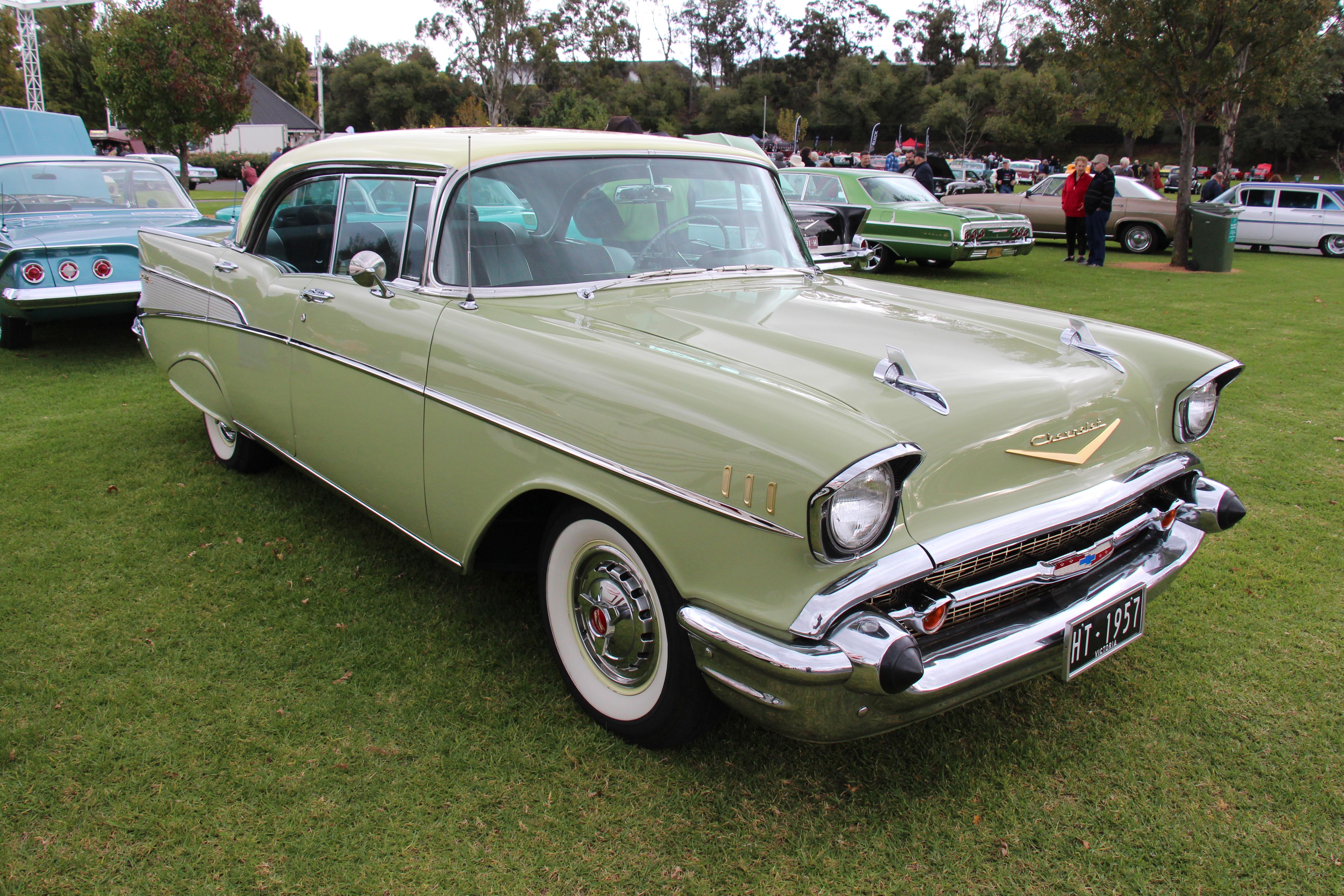 File1957 Chevrolet Bel Air 4 Door Hardtop 26184663404 1957 Chevy