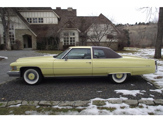 File 1974 Cadillac Coupe Deville Left Jpg Wikimedia Commons