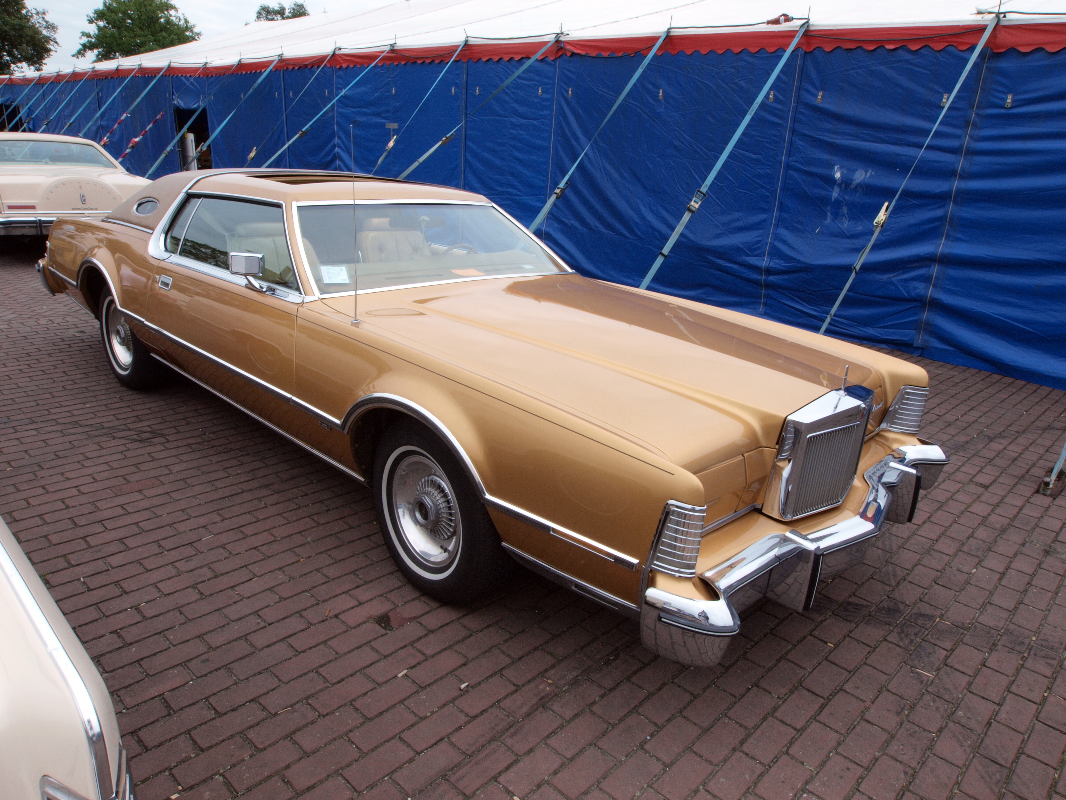 File 1975 Lincoln Continental Mark Iv Dutch Licence
