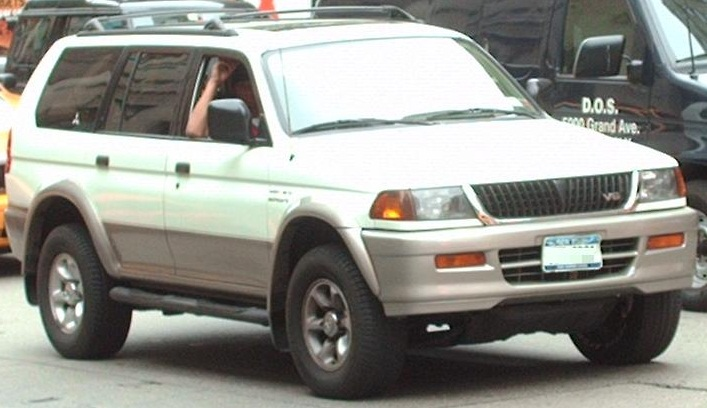 Perfect File:1997 99 Mitsubishi Montero Sport