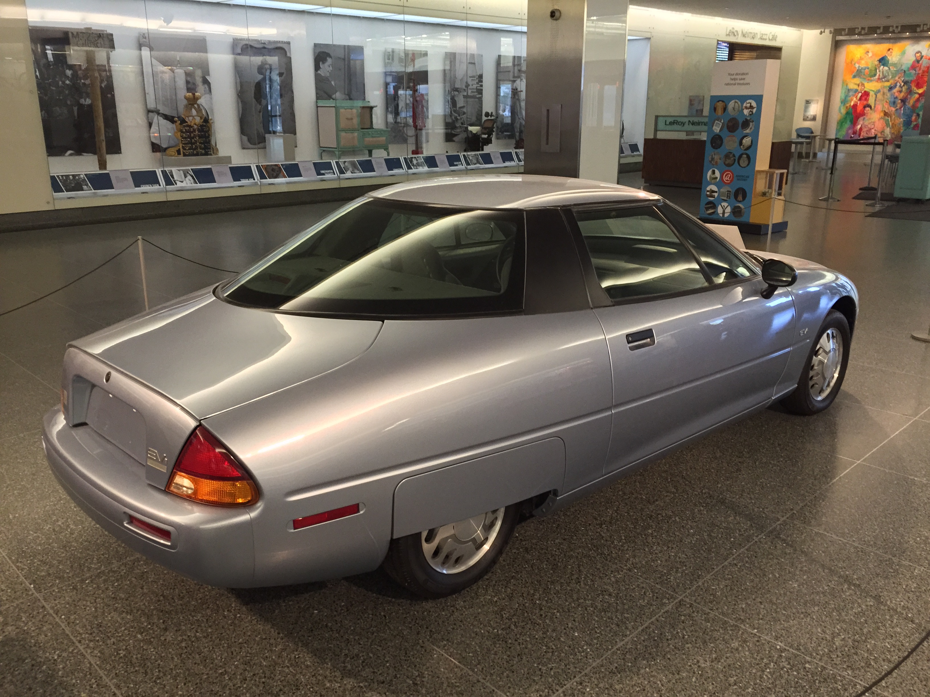 File 1997 General Motors Ev1 At Smithsonian National Museum Of American History 2of8 Jpg