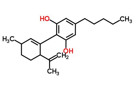 2-(6-Isopropenyl-3-methyl-1-cyclohexen-1-yl)-5-pentyl-1,3-benzenediol.png