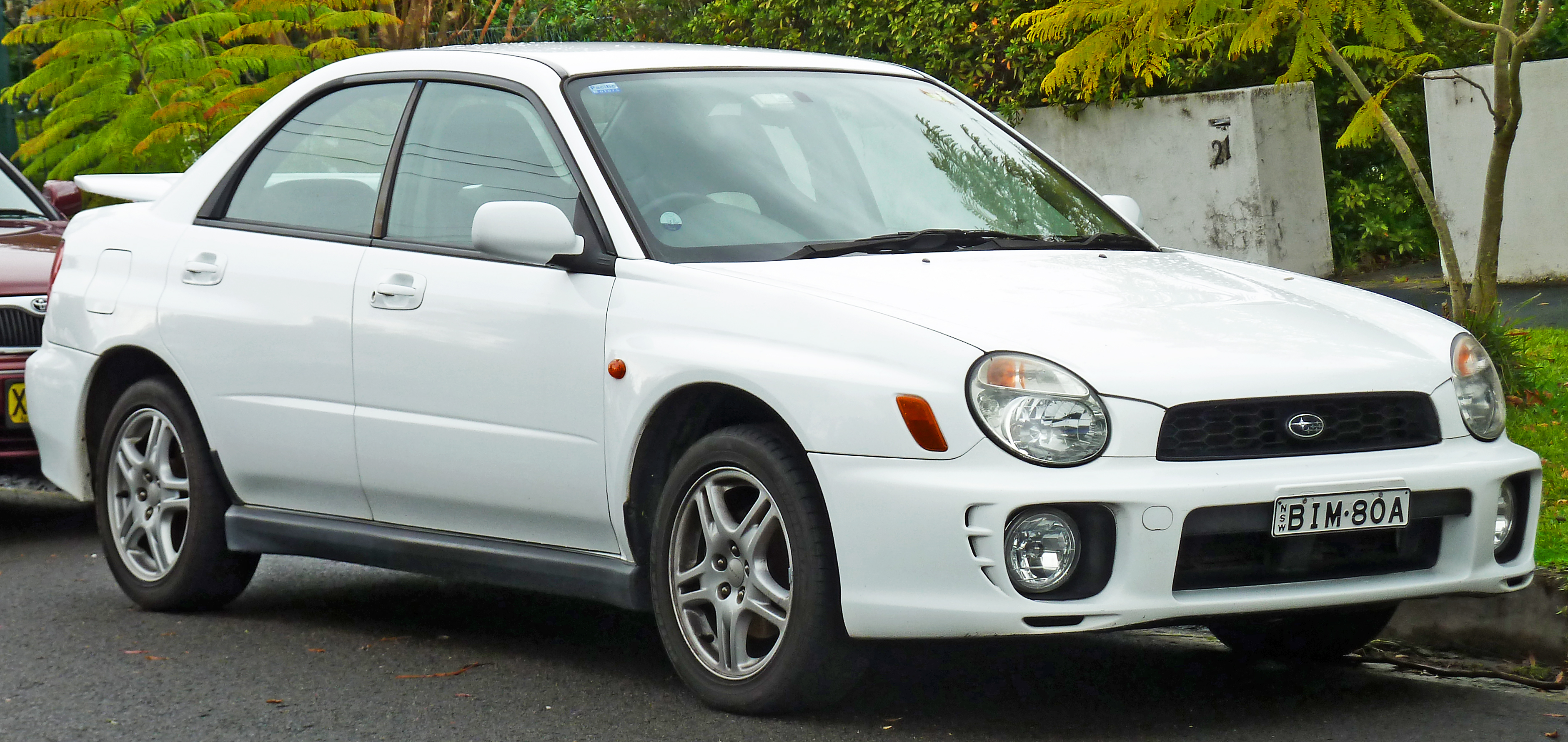 Subaru Impreza Second Generation Wikipedia