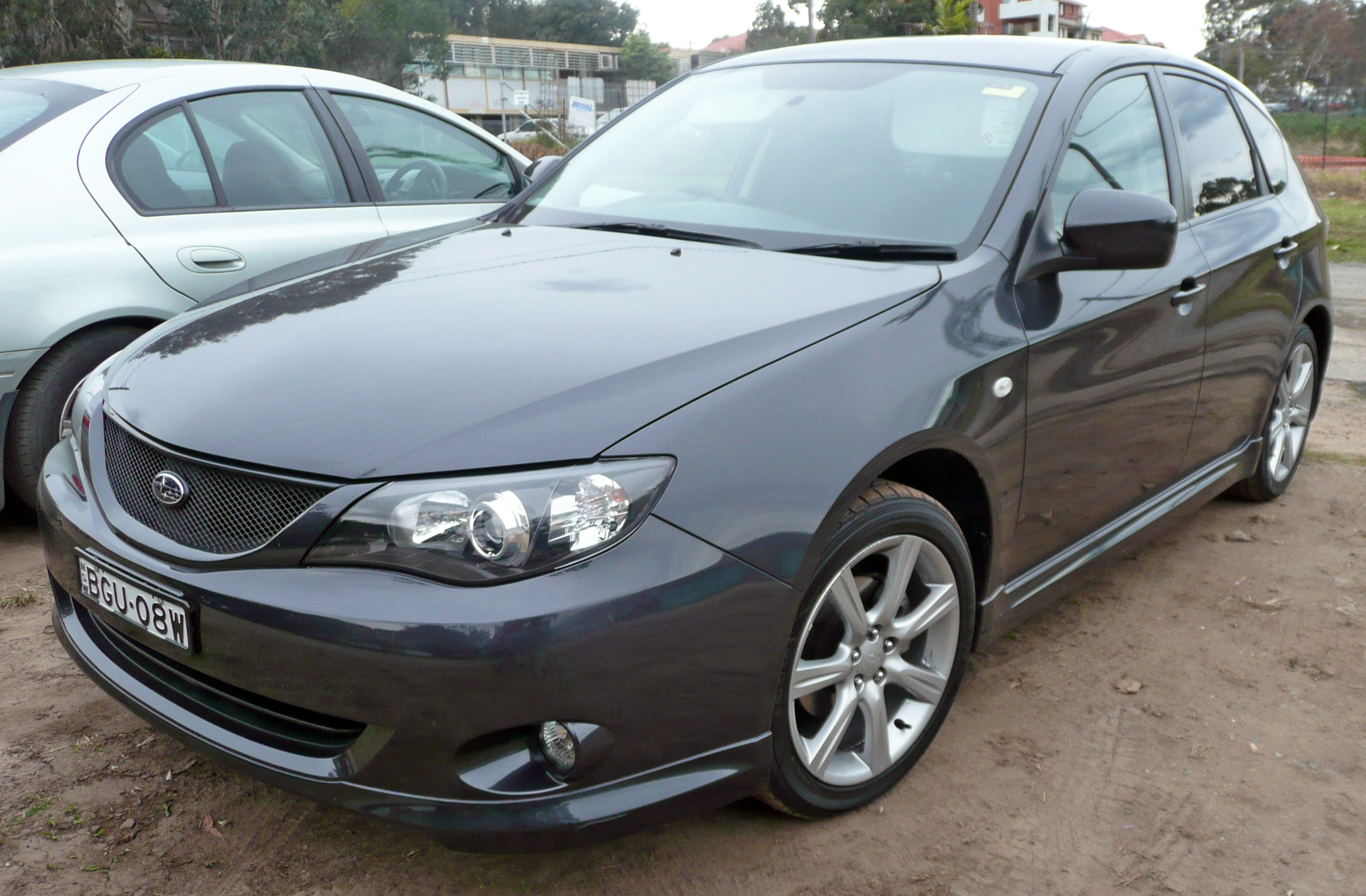 2008 Subaru Impreza GH7 MY08 RS hatchback % 08 21 01