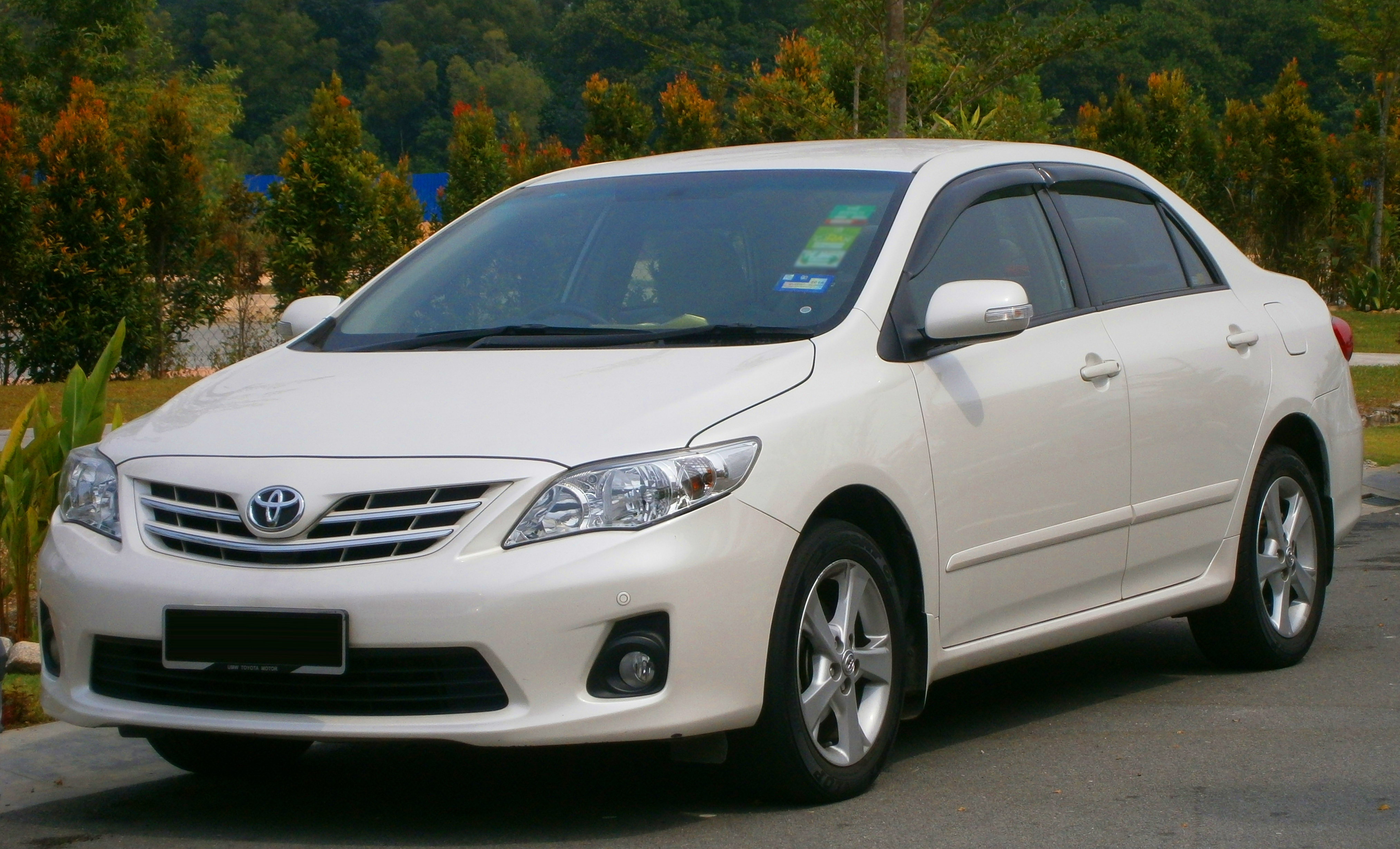 2011 Toyota Corolla Altis 1 8 Related Infomation