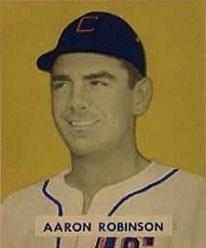 Aaron Robinson American professional baseball player