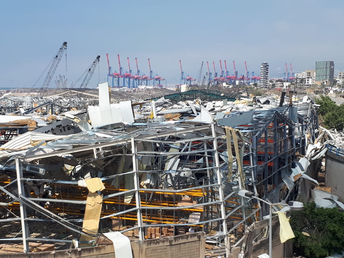 Aftermath of the 2020 Beirut explosions august 6 2020 08.jpg