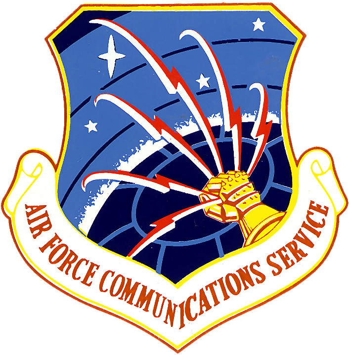 Air Force Emblem http://en.wikipedia.org/wiki/File:Air_Force_Communications_Service_-_Emblem.png