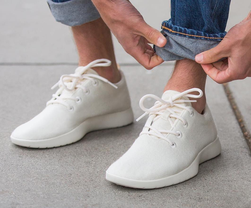 White Shoe Cream Common Projects