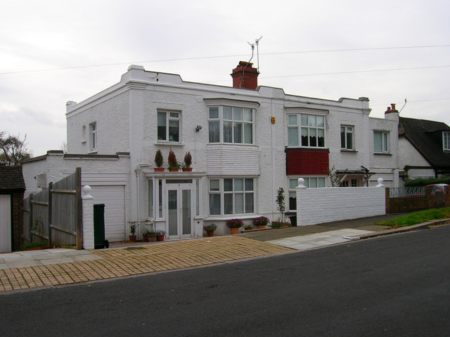 file art deco houses shirley road geograph org uk 276822 jpg