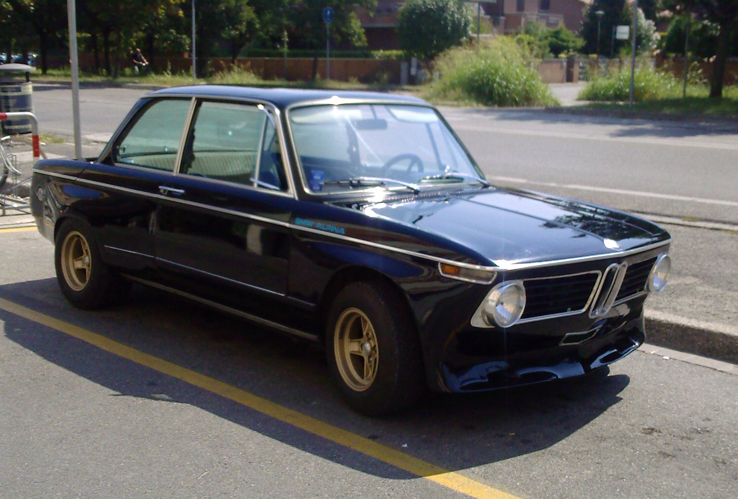 gearheads and monkeywrenches alpina bmw 2002 ti. Black Bedroom Furniture Sets. Home Design Ideas