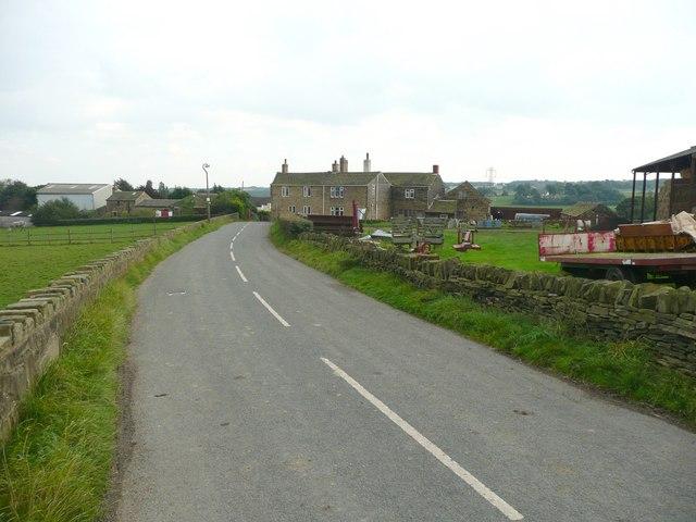 Back Lane, Briestfield - geograph.org.uk - 1002223