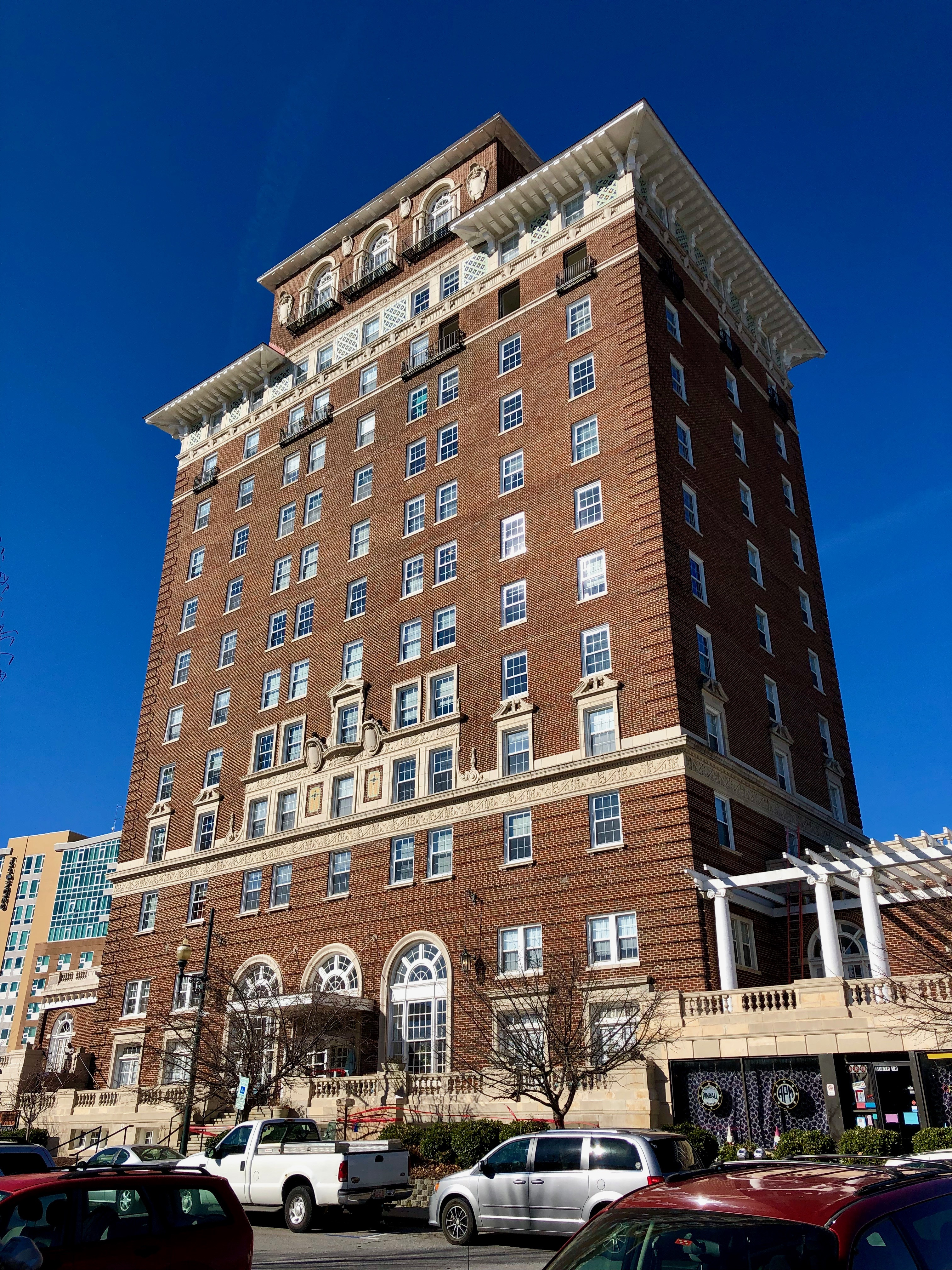 Hotels In Asheville Nc >> Battery Park Hotel Wikipedia