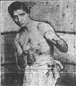 Benny Valgar American boxer