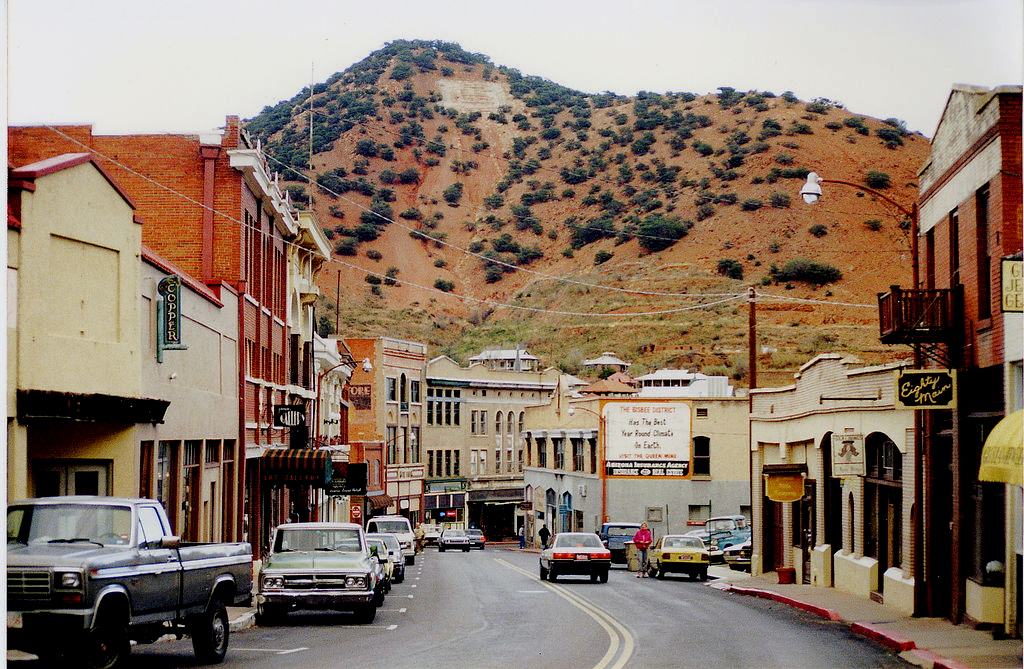 File:Bisbee,_Arizona_1990 on Kb Homes Phoenix Az