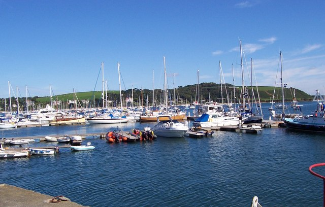 Boats in Falmouth Harbour - geograph.org.uk - 2155973