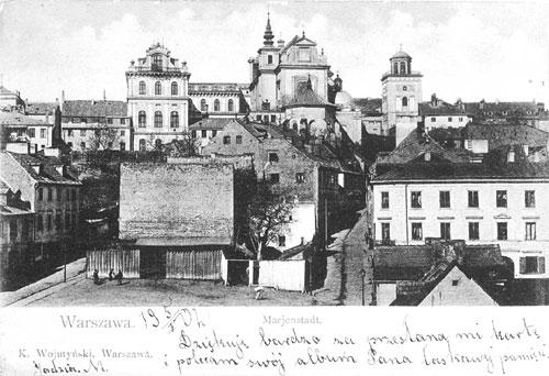 > Pente de Mariensztat à Varsovie dans les années 30.