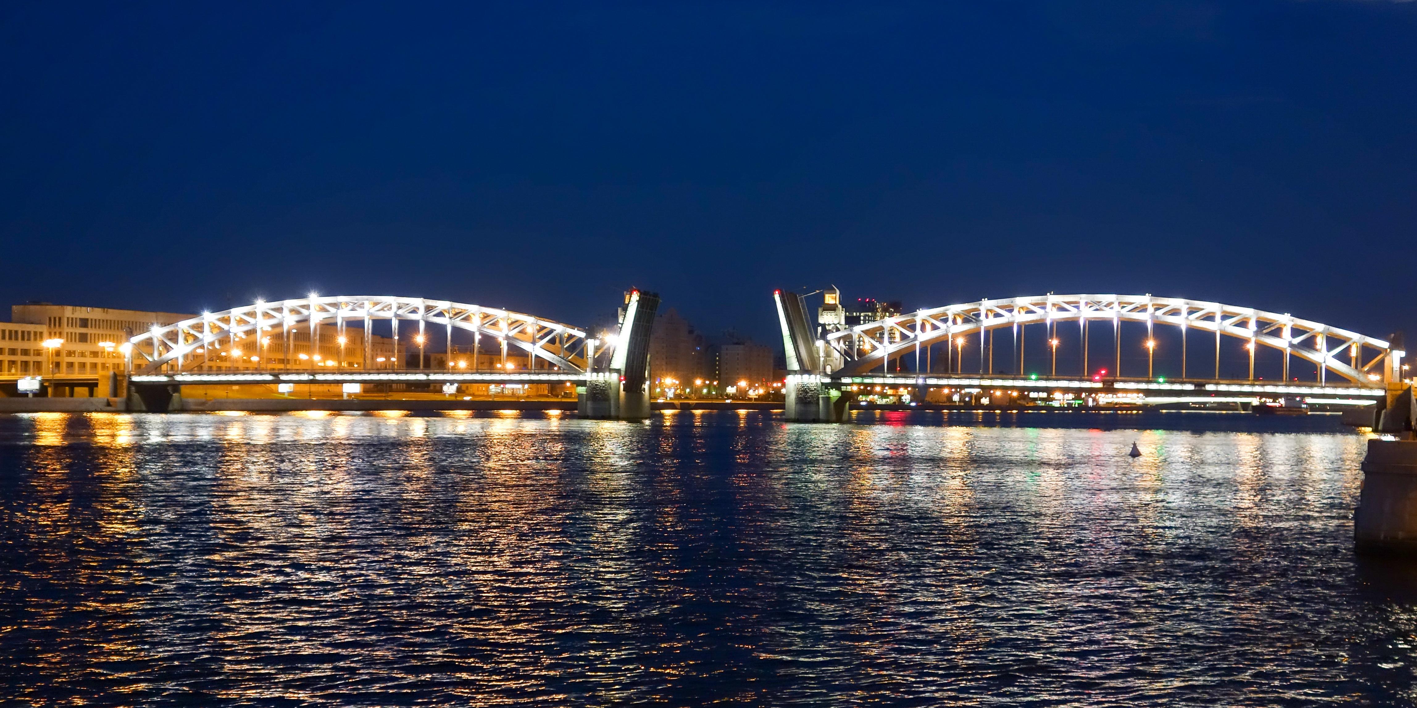 Bolsheokhtinsky Bridge in St. Petersburg: its history and photo 25