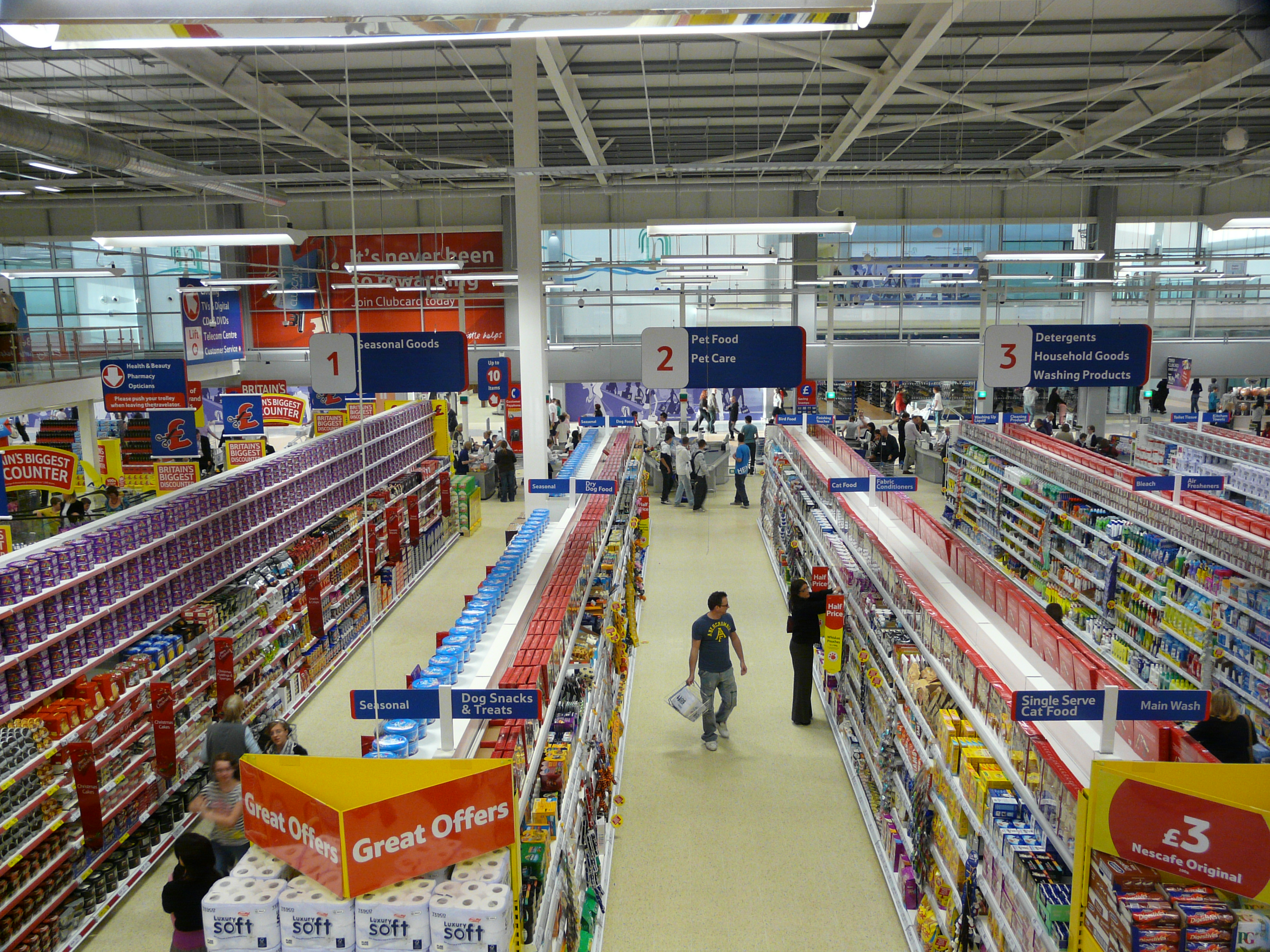 Image result for aisle in tesco