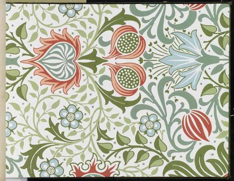 File:Brooklyn Museum   Wallpaper Sample Book 1   William Morris and