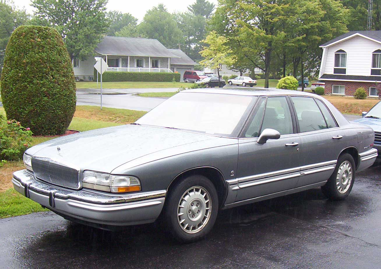 File Buick Park Avenue Ultra 1991 Jpg Wikimedia Commons