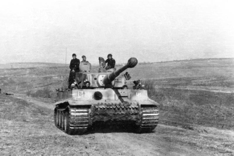 """Tiger I of schwere SS Panzer-Kompanie """"Das Reich"""""""