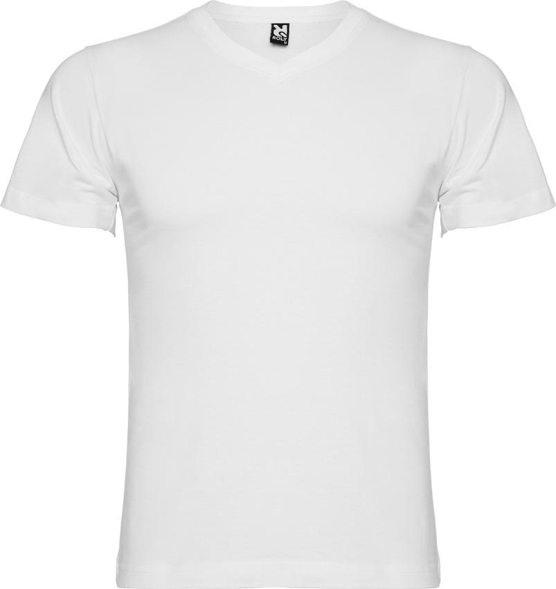 File:Camiseta Blanca con cuello en V.jpg - Wikimedia Commons