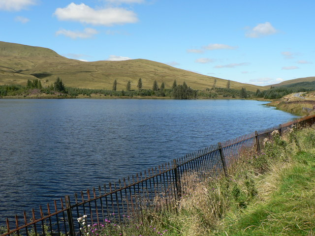 Cantref Reservoir, Brecon - geograph.org.uk - 848246