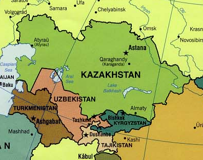 FileCentral Asia Politicalpng Wikimedia Commons - Central asia political map