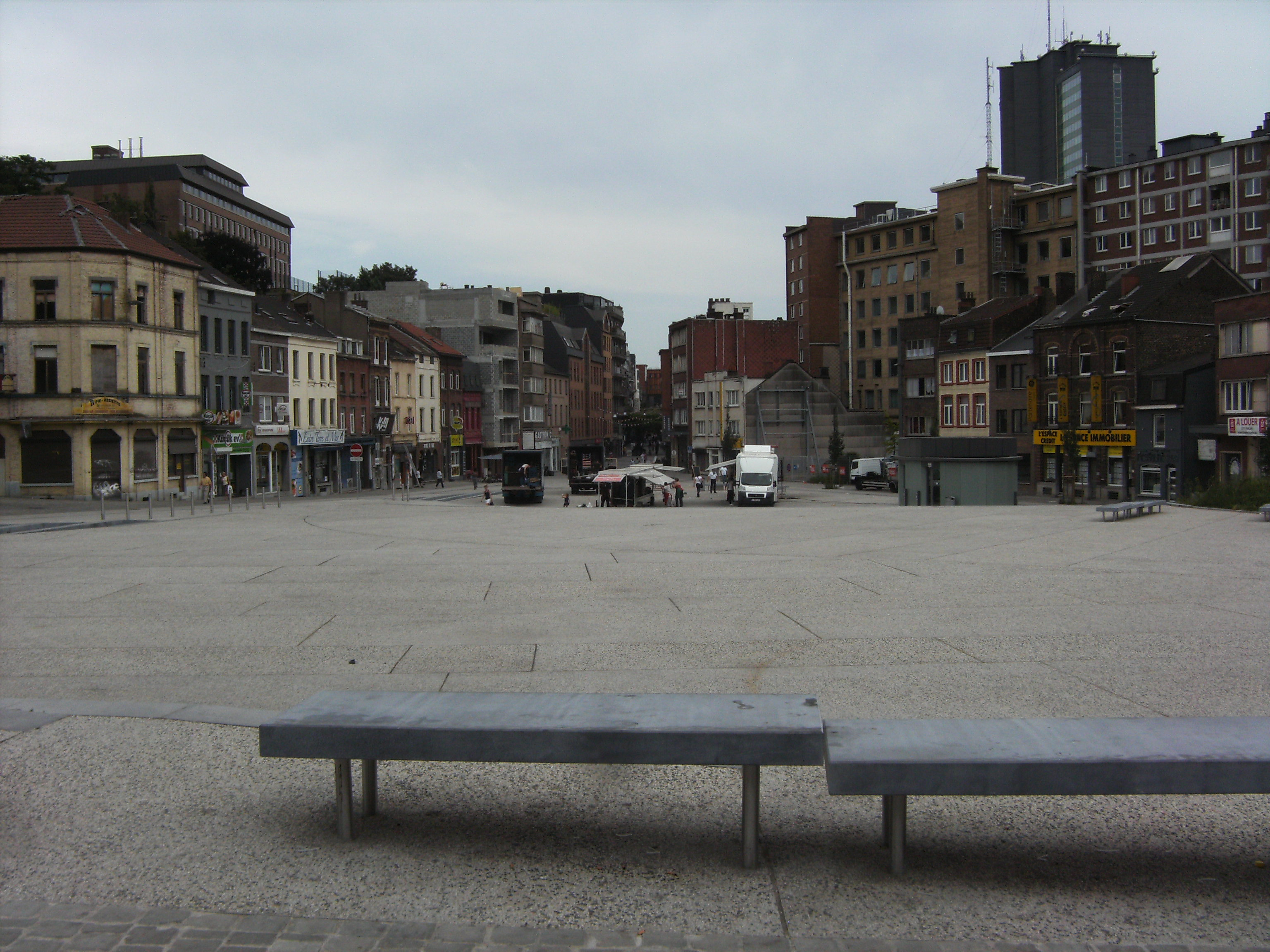 Charleroi La Ville La Plus Moche