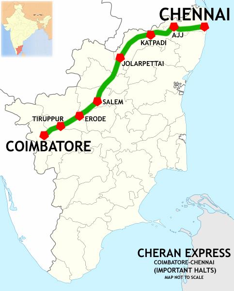 Chennai Express Coimbatore–Chennai C...