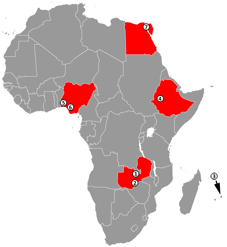 Current Map Of Africa Countries.File Chinese Industrial Zones In Africa 2011 Png Wikimedia Commons